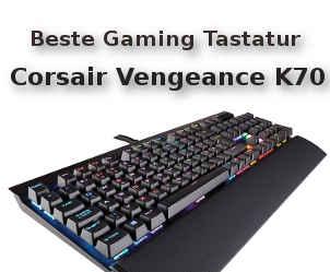 Beste Gaming Tastatur Corsair