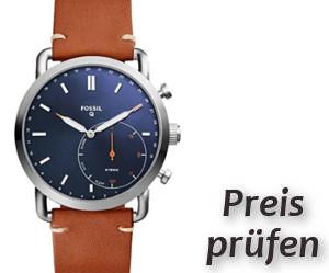 Fossil Smartwatch FTW1151 beste Hybrid Smartwatch