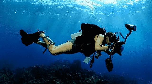 Professionelle-Unterwasserkamera