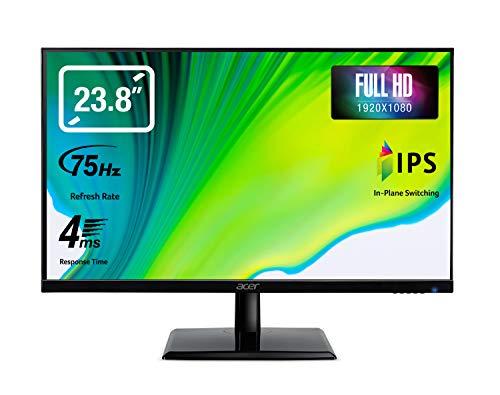Acer EK1 Series (EK241Y) 60 cm (23,8 Zoll) IPS Monitor (VGA, HDMI, Full-HD 1920x1080, 4ms (G2G), 60Hz, 250 Nits)