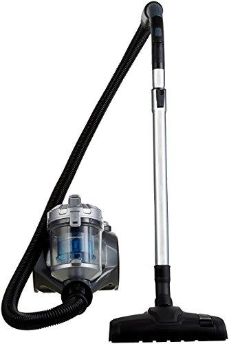 AmazonBasics – Zylinder-Staubsauger, leistungsstark, kompakt und leicht, ohne Beutel, für Hart- und Teppichböden, HEPA-Filter, 700W, 1,5l, EU
