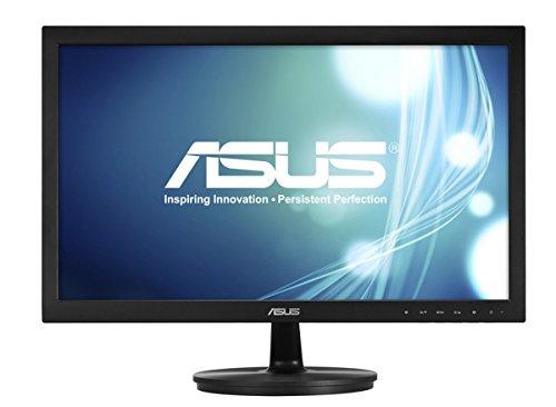 Asus VS228NE 54,6 cm (21,5 Zoll) Monitor (Full HD, VGA, DVI, 5ms Reaktionszeit) schwarz