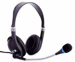 Gaming_Headset mit Mikrofon