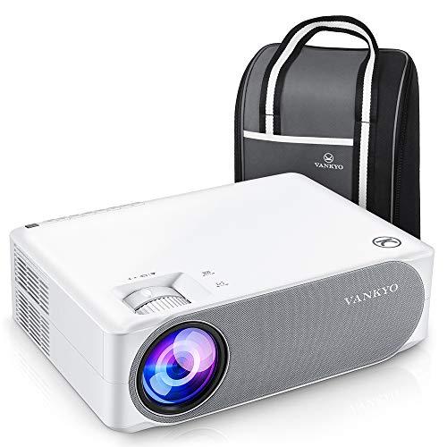Beamer 6800 Lumens, Native 1080p Beamer Full HD, VANKYO Performance V630 Beamer Heimkino, mit ±50°Elektronische Korrektur, unterstützt HDMI USB TV Stick Xbox Laptop, iOS/Android Smartphone Projektor