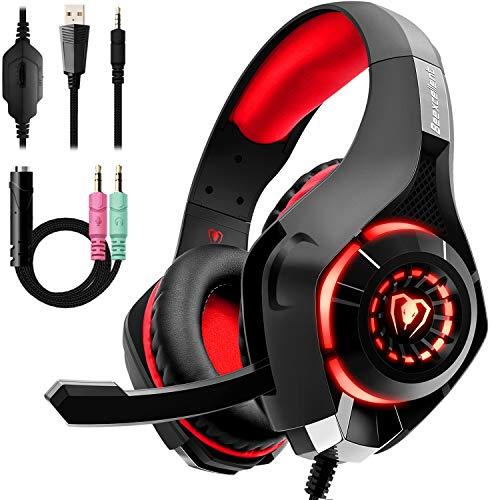Beexcellent GM-1RED Gaming Kopfhörer