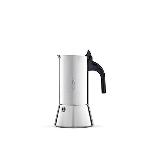Bialetti Venus 4 Tassen Espressokocher Edelstahl Induktion