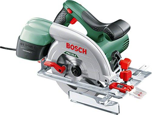 Bosch Kreissäge PKS 55 A (1.200 Watt, im Karton)