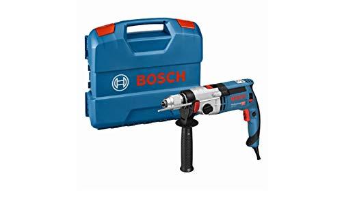 Bosch Professional 060119C801 Schlagbohrmaschine GSB 24-2 (1.100 Watt, max. Drehmoment: 40/14.5 Nm, in L-Case), 1100 W, Multi, Solo