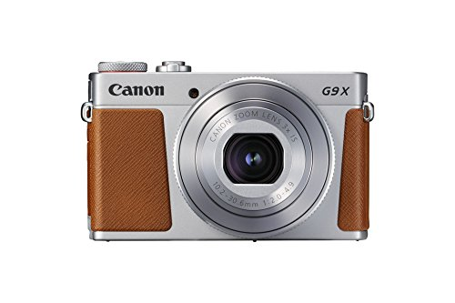 Canon PowerShot G9 X Mark II Kompaktkamera (20,1 MP, 7,5cm (3 Zoll) Display, WLAN, NFC, 1080p, Full HD) silber