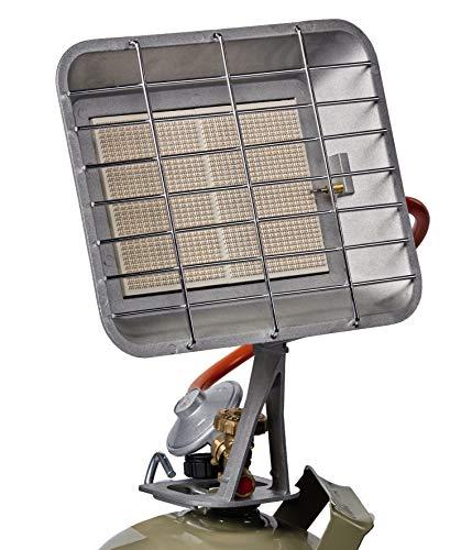 Einhell Gasheizstrahler GS 4400 (Heizleistung 2900-4400 W, inkl. Gasdruckregler 50 mbar, Gasschlauch, Regler, für alle handelsüblichen Gasflaschen)