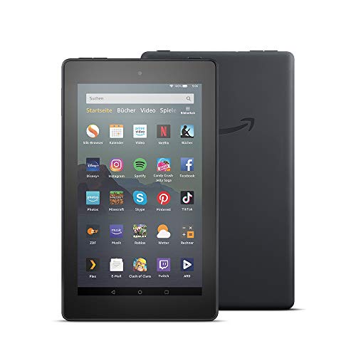 Fire 7-Tablet (7-Zoll-Display, 16 GB), Schwarz mit Spezialangeboten