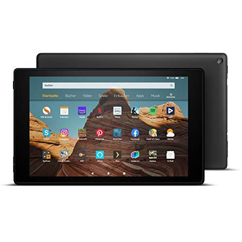 FireHD10-Tablet│10,1Zoll großes FullHD-Display (1080p), 32 GB, Schwarz mit Spezialangeboten