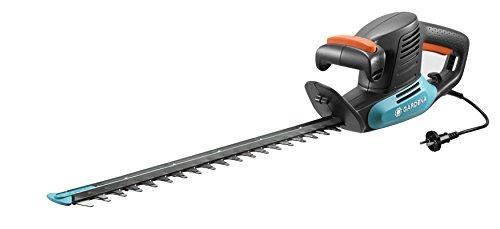 Gardena Elektro-Heckenschere EasyCut 420/45: Elektrische Heckenschere mit 420 W Motorleistung, 45 cm Messerlänge, 18 mm Messeröffnung, ergonomischer Griff und Anschlagschutz (9830-20)