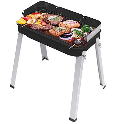 HengBO Holzkohle BBQ Grillen Tragbar Outdoor Garten Camping Barbecue Smoker Edelstahl Grill Grill Rack mit Abnehmbaren Beinen