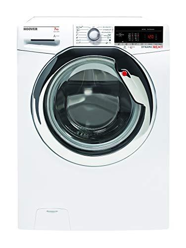 Hoover DXOA4 37AC3/1-S Waschmaschine / 7 kg / 1300 U/Min/Dampffunktion/Smarte Bedienung mit moderner NFC-Technologie