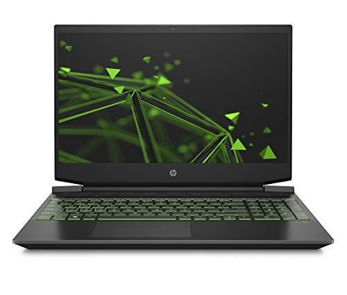 HP Pavilion Gaming 15-ec1099ng / 15-ec1206ng (15,6 Zoll / FHD IPS) Gaming Laptop (AMD Ryzen 5 4600H, 8GB DDR4 RAM, 512GB SSD, Nvidia GeForce GTX 1650 4GB ) Windows 10 Home, Schwarz