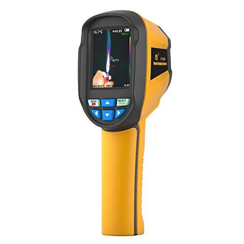 Hti-Xintai HT-04D Wärmebildkamera, Infrarot-Handkamera mit Echtzeit-Wärmebild, Infrarotbildauflösung 120 x 160, IR-Wärmebildkamera