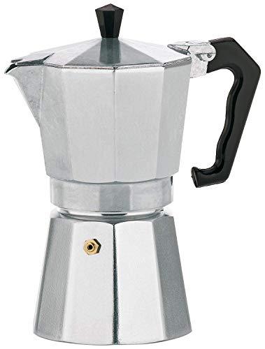 Kela 10590 Espressokocher, Für 3 Tassen, Aluminium, Italia