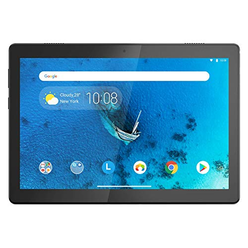 Lenovo Tab M10 25,5 cm (10,1 Zoll, 1280x800, HD, IPS, Touch) Tablet-PC (Quad-Core, 2 GB RAM, 16 GB eMCP, Wi-Fi, Android 9) schwarz