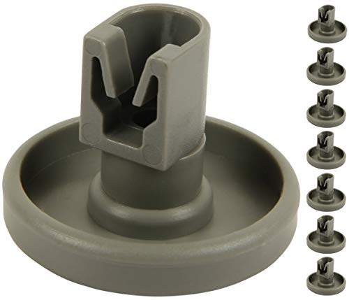 McFilter Unterkorb-Rollen für Geschirrspüler (8 Stück), Korbrollen für Spülmaschine geeignet für AEG Favorit, Privileg, Zanussi, uvm.