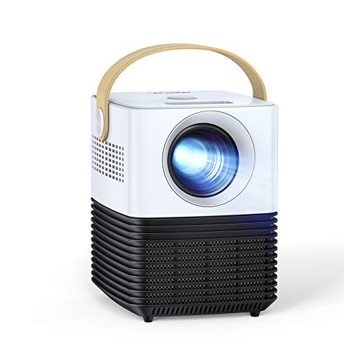 "Mini Beamer, APEMAN Unterstützt 1080P Video Projektor, ±30° Elektronische Korrektur, Dual Lautsprecher, 120"" Kurzdistanz LED Full HD Display, mit HDMI/USB/Phone/PS4/TV Stick/chromecast, Für Heimkino"