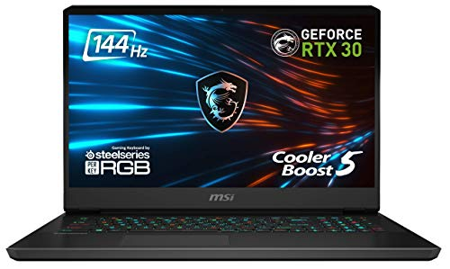 MSI GP76 Leopard 10UE-022 17.3 Zoll FHD (1920*1080 Pixel /144 Hz) Gaming Notebook (Intel Core Comet Lake i7-10870H+HM470), NVIDIA GeForce RTX 3060 6 GB, 16 GB DDR4-3200 1 TB, Windows 10 Home