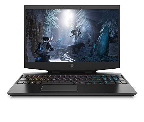 OMEN 15-dh1086ng (15,6 Zoll / FHD IPS 300Hz) Gaming Laptop (Intel Core i7-10750H, 32GB DDR4 RAM, 1TB HDD + 512GB SSD, Nvidia GeForce RTX 2080 Super 8GB (MAX-Q) + GSYNC, Windows 10, QWERTZ) Schwarz