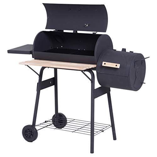 Outsunny Smoker Grill BBQ