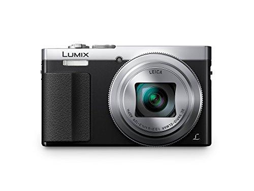 Panasonic DMC-TZ71EG-S Lumix Kompaktkamera (12,1 Megapixel, 30-fach opt. Zoom, 7,6 cm (3 Zoll) LCD-Display, Full HD, WiFi, USB 2.0) silber