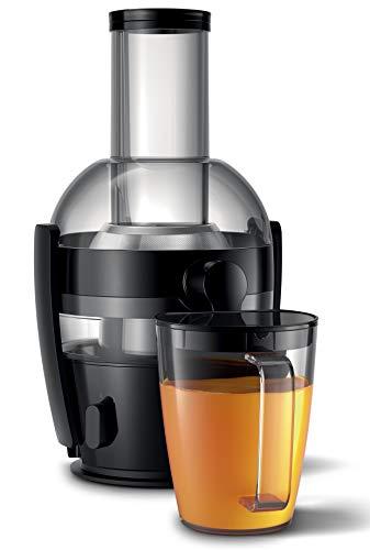 Philips Entsafter HR1856/70 (800 W, 2 Liter Kapazität, QuickClean-Technologie, inkl. Saftbehälter)