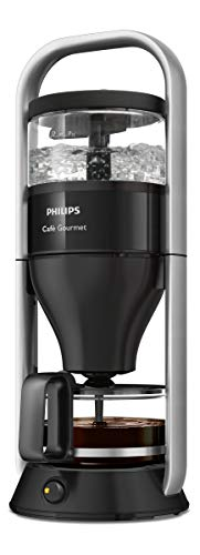 Philips HD5408/20 Cafe Gourmet Filter-Kaffeemaschine, Direkt-Brühprinzip, schwarz/edelstahl