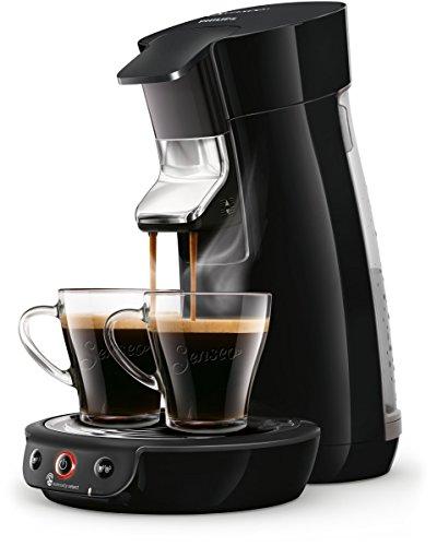 Philips Senseo Viva Cafe HD6563/60 Kaffeepadmaschine (Crema plus, Standard, Kaffee-Stärkeeinstellung) schwarz