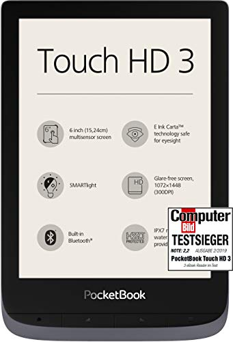 PocketBook e-Book Reader 'Touch HD 3'