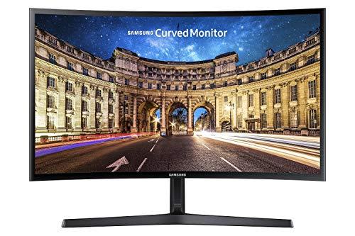 Samsung C24F396FHU 60,9 cm (24 Zoll) Curved Monitor, schwarz