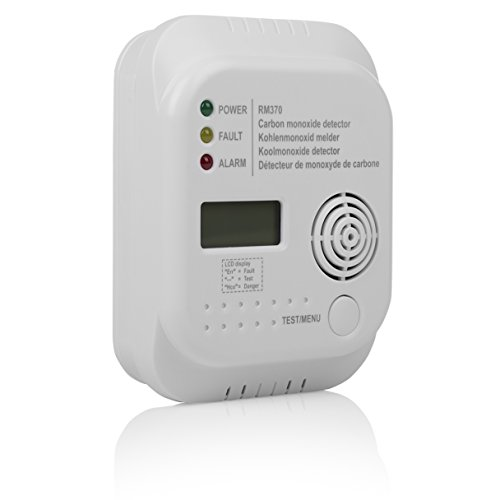 Smartwares RM370 Kohlenmonoxid CO Melder mit Display