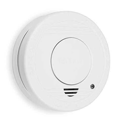 Smartwares TÜV geprüfter Rauchmelder/Feuermelder, DIN EN 14604 zertifiziert, RM250, 1er Pack