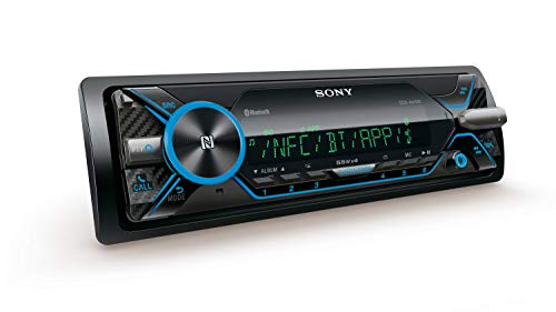 Sony DSX-A416BT Autoradio mit Dual Bluetooth, NFC, USB & AUX Anschluss, 35.000 Farben (vario color), Freisprechen und Mikrofon