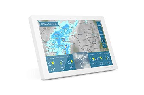 wetteronline home - WLAN-Wetterstation - WetterRadar für Ihr Zuhause - einfache Bedienung, Wettervorhersage auf Farbdisplay, Regenradar, Unwetterwarnung